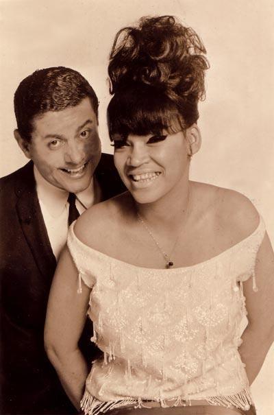La Lupe and Tito Puente. (circa 1960 in NYC)