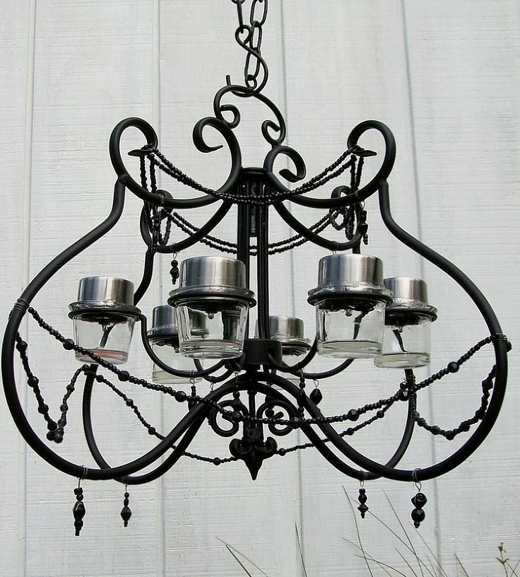 Battery Operated Chandelier With Awesome Battery Operated Outdoor And Indoor Chandelier Decor: 25+ Unique Solar Light Chandelier Ideas On Pinterest