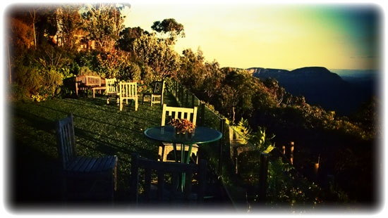 Echoes Boutique Hotel at Jamison Valley in the Blue Mountains - Australia