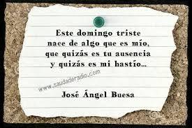 Poema del domingo triste  José Ángel Buesa - Oasis (1943).