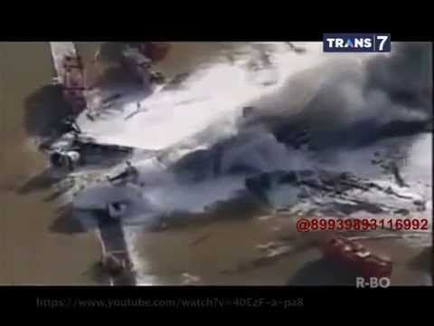 On The Spot - 7 Video Pesawat Terbakar