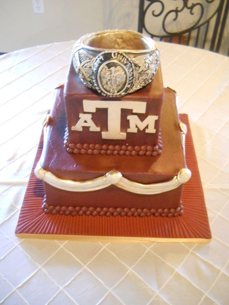 That's a big #Aggie ring! @Tracy Stewart Dub A&M University #TAMU #gigem