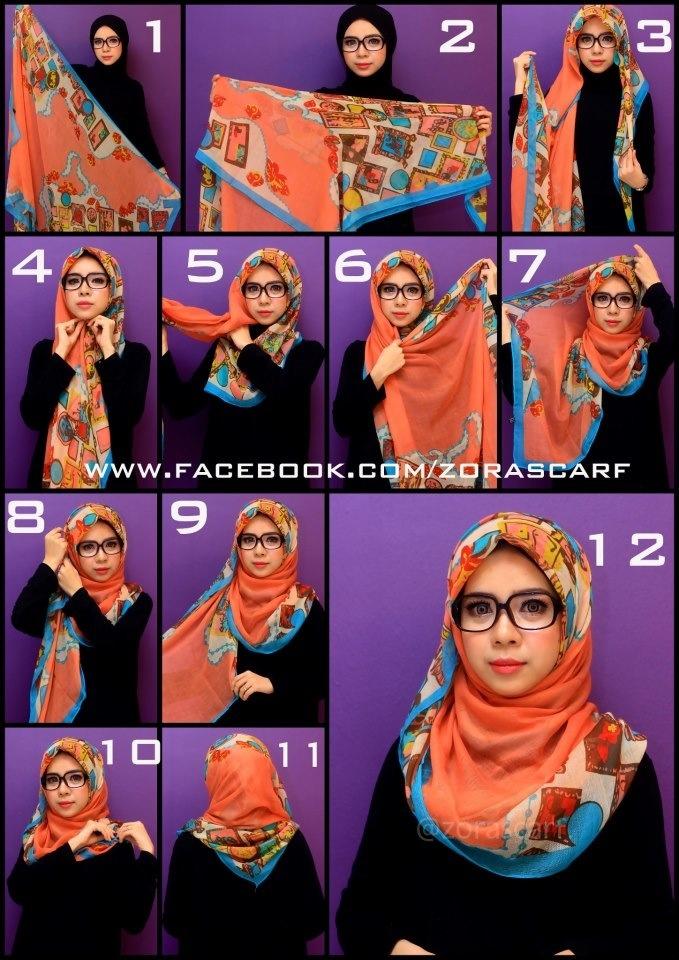 How To Hijab #3 - Zorascarf