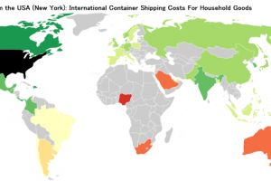 2016 International Container Shipping Rates & Costs