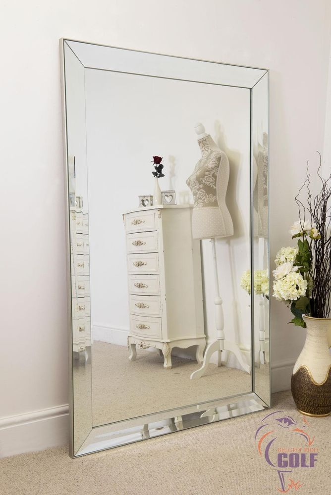 This Triple Bevelled 4 Framed Venetian Mirror Will Add Style And Character To Any Room From The Living Room Mirror Dining Room Modern Mirror Wall Mirror Wall