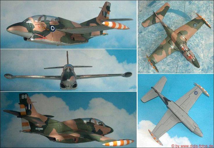 "Greece: North-American/Rockwell T-2E ""Buckeye"" (Matchbox 42) 1:72"