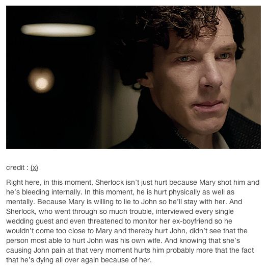 I hate that she could've shot John when she thought he was Sherlock. Even had her gun in her purse.