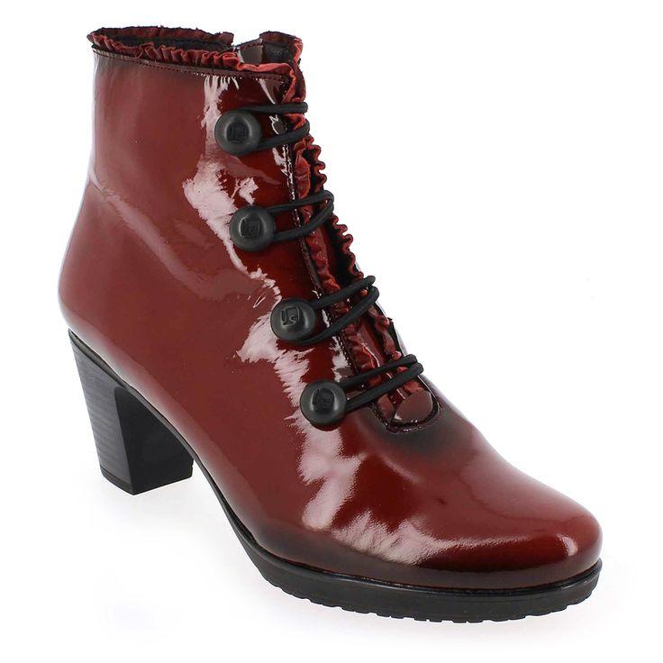 Chaussure Jose Saenz 5176 BEATRIZ Rouge 5107902 pour Femme | JEF Chaussures