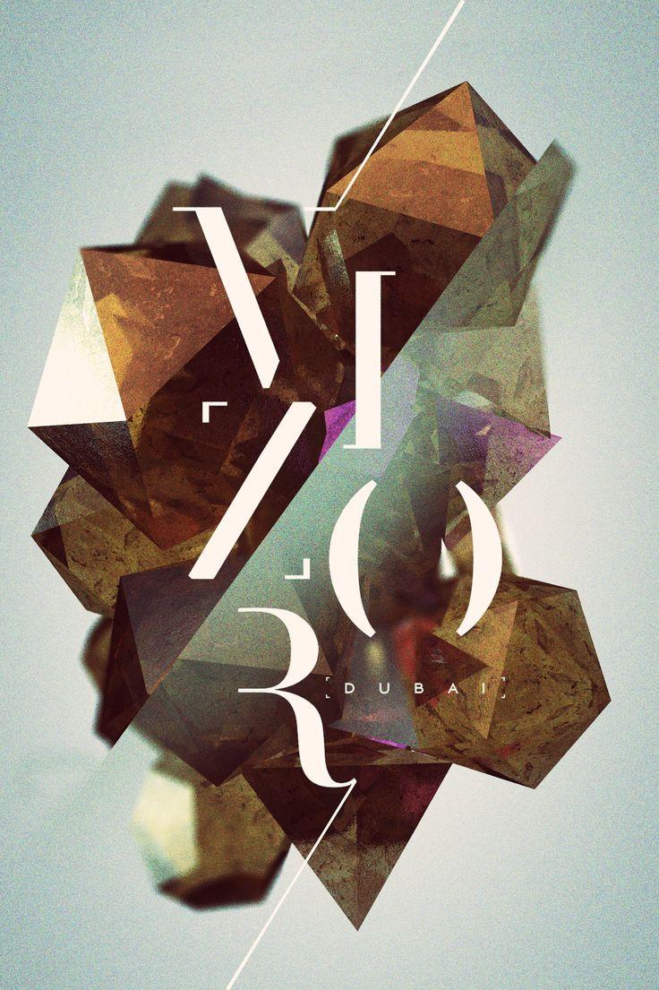 vizor / ym portfolio ~ #GraphicDesign #Inspiration