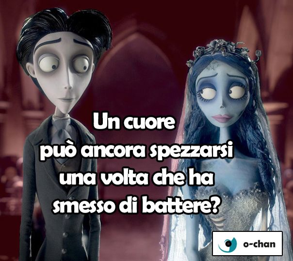 Citazioni film la sposa cadavere di Tim Burton #timburton #film #citazioni #Ochan