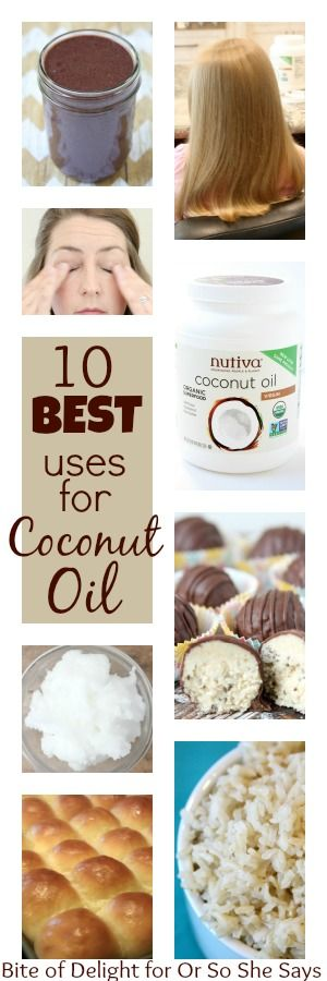 Coconut oil is EVERYWHERE but it can be overwhelming to figure out how to incorporate it. Becky is sharing 10 best uses for coconut oil today on the blog.