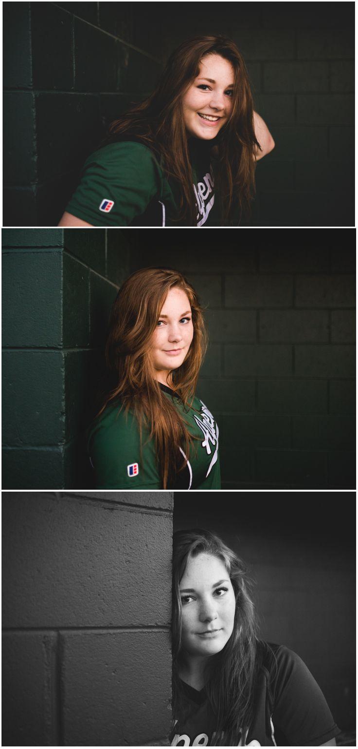 Softball senior girl photos, but dramatic and beautiful. Amy Brownridge, Michigan photographer.