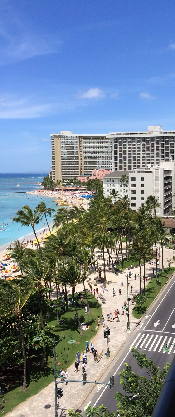 Waikiki beach. Would love to be back on that beach!