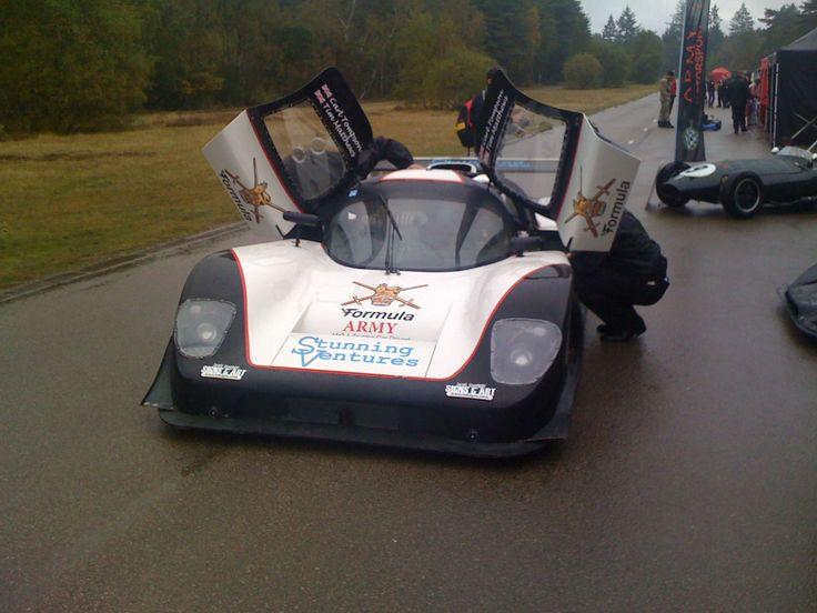 DC & Mike Turner attended the Army Motorsport Festival at a rather wet Aldershot in 2012