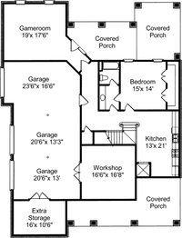 Charleston House Plans ALP 036W Basement like red roof house