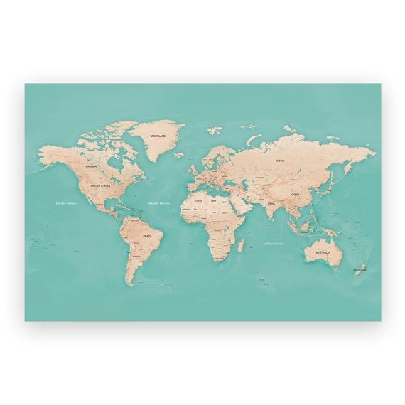 30 best Our Maps images on Pinterest Blush, Blushes and World maps - best of world map fabric bunting