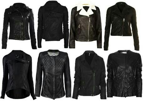 Leather Jackets for women made by Esnha Trading Co Info@esnhatrading.com