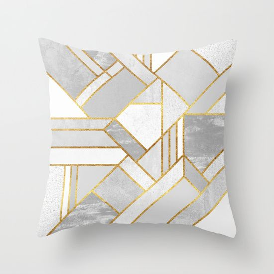 Buy Gold City Throw Pillow by Elisabeth Fredriksson. Worldwide shipping available at Society6.com. Just one of millions of high quality products available.