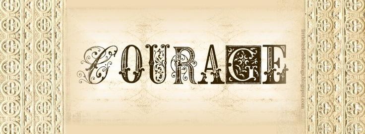 courage facebook cover