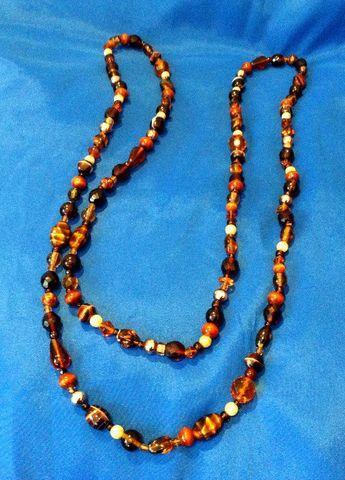 Extra Long Vintage  Necklace