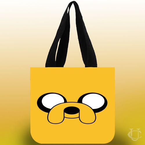 Adventure Time Tote Bags
