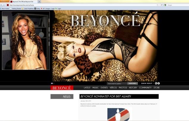 MC Lite? White Beyonce pic raises eyebrows.
