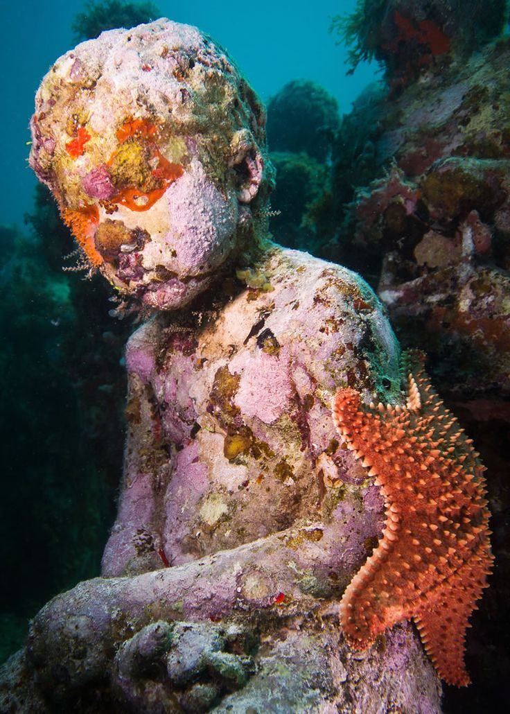 Beautiful Museo Atlantico Lanzarote Ideas On Pinterest Museo - Europes first ever underwater museum is full of hyperrealistic human sculptures