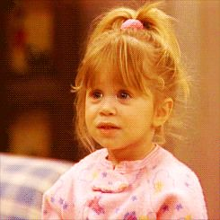 Cheers to you, Michelle Elizabeth Tanner! | 21 Reasons Michelle Tanner Was The Cutest Child To Ever Grace Your TV Set