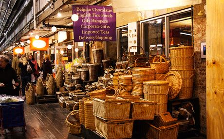 Chelsea Market - I love the shops there. Always spend too much.