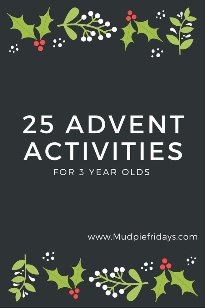 25 advent activities for 3 year olds one for every day of. Black Bedroom Furniture Sets. Home Design Ideas