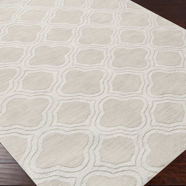 Surya Mystique Waves Palm Plush Pile Wool Rug #laylagrayce