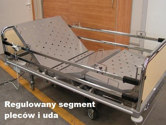Łóżko Szpitalne / Rehabilitacyjne elektr.  Materac