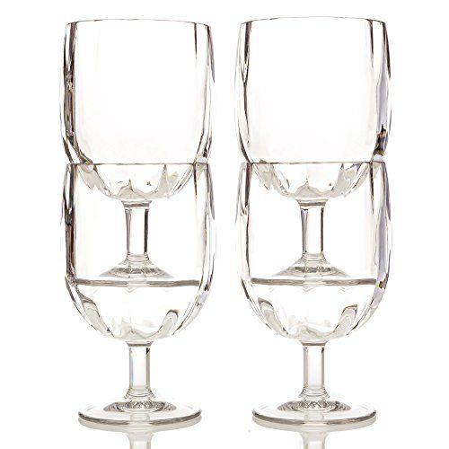 Shatterproof Short Stem Wine Glasses - Stackable, Unbreakable, and Easy to Store - 100% Tritan - Dishwasher Safe - 11oz, Set of 4 Savorware http://www.amazon.com/dp/B012OSU7FS/ref=cm_sw_r_pi_dp_lXH6wb18ZK5P1
