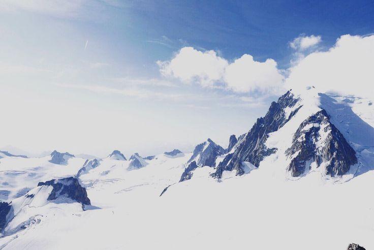 Mount Blanc , July 2015