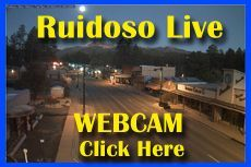 The Ruidoso New Mexico live Webcam in Midtown with views of downtown shopping, restaurants and entertainment in Ruidoso with views of the Sierra Blanca Mountains, home of Ski Apache Ski Resort.  Ruidoso local weather information.