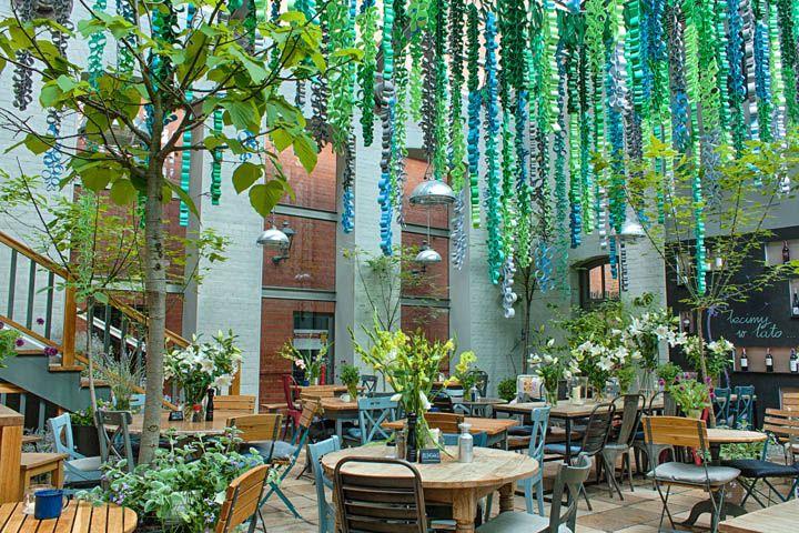 Weranda lunch & wine restaurant, Poznan – Poland - Retail Design Blog
