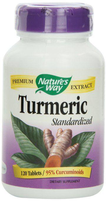 Nature's Way Turmeric, 120 Tablets