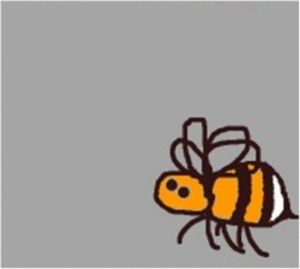 Animated cartoon images of bees!