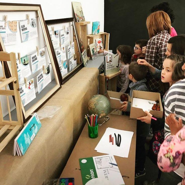 """Laboratori de lectura """"El calaix de l'artista"""" #biblioteca #cuento #leer #lectura #actividad #infantil #laboratorio #niños #diy"""