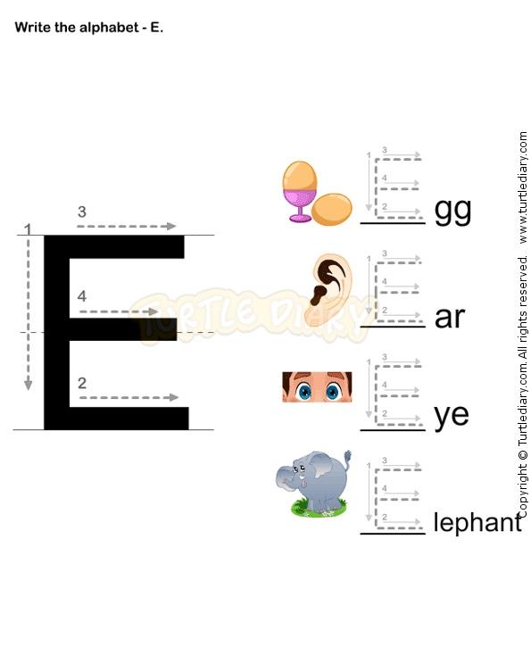 Yli tuhat ideaa: Letter E Worksheets Pinterestissä