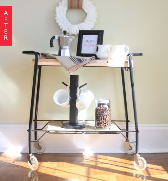31 best images about diy coffee bar on pinterest coffee for Apartment therapy coffee maker