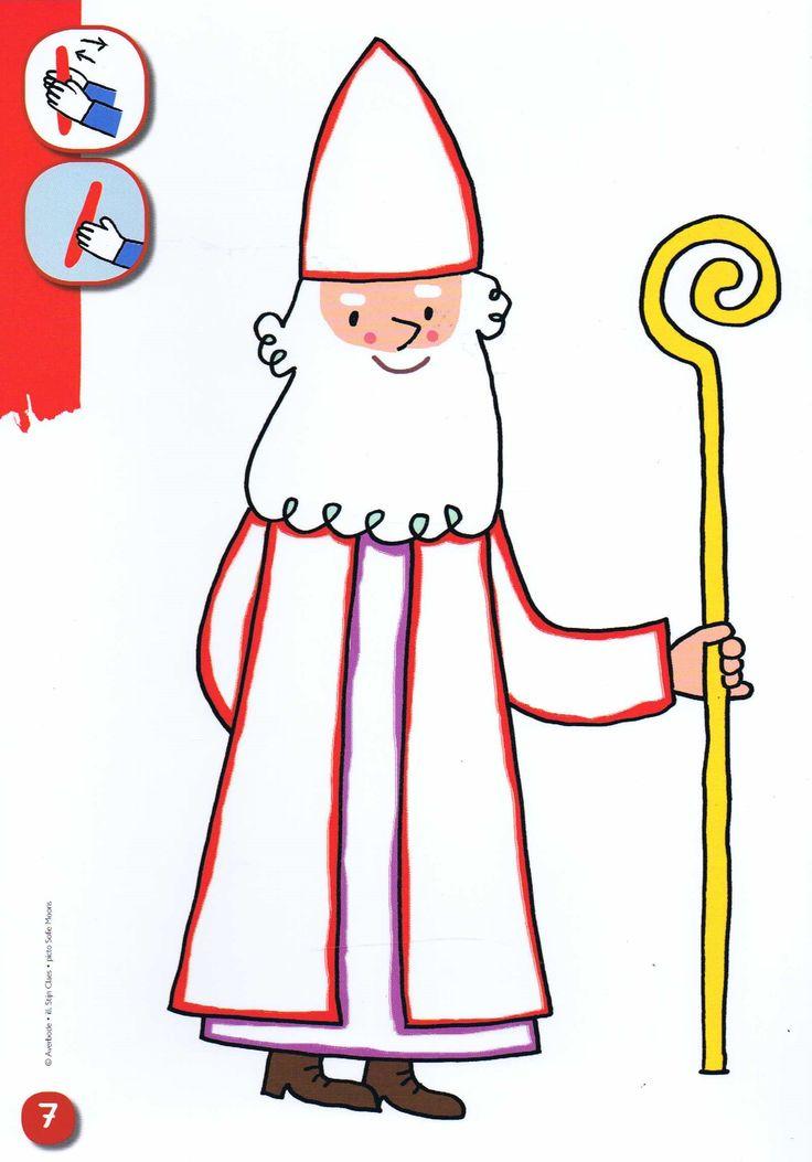 Sinterklaas: Kleikaart