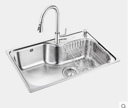 Cheap stainless steel sink, Buy Quality kitchen sink directly from China steel sink Suppliers: Free shipping sink single trough set stainless steel sink large single trough kitchen sink single tank drainage basin
