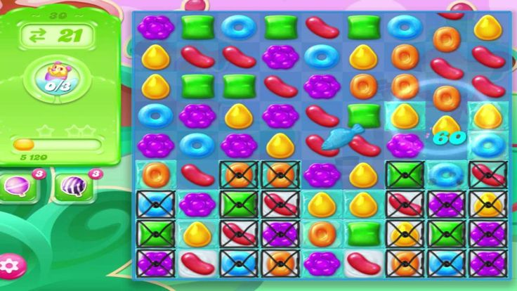 Playing Games, Candy Crush Jelly Saga Level 30 Without Booster