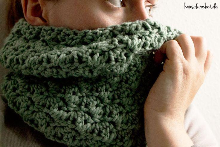 Tutorial: Einfachen Infinity Schal haekeln