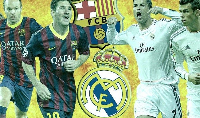 Barcelona Vs Real Madrid Telecast Channels