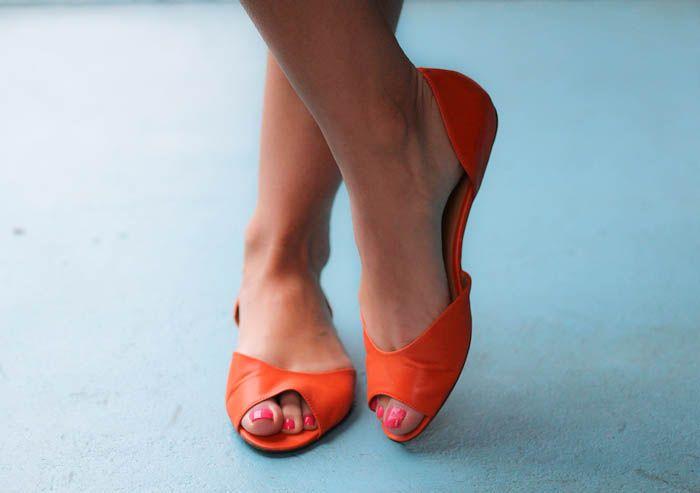Nine West Byteme Peep Toe Flats Shoes Sidekicks