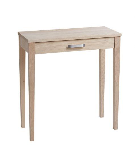 nadja konsolbord l kkert lille konsolbord til entr en lavet i massiv egetr entrem bler. Black Bedroom Furniture Sets. Home Design Ideas