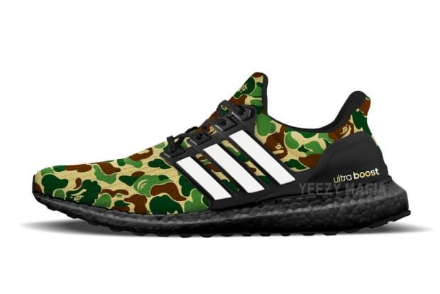 The BAPE x adidas UltraBOOST Gets a Tentative Release Date