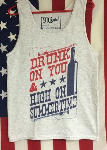 The Perfect Tank Top for All Country Music & Luke Bryan Lovers. There is nothing more perfect to wear to a Luke Bryan Concert or any Big Country Music Festival. If you need this for a concert/festival, we will expedite your shipment for free to make sure you get it- All you have to do is let us know!
